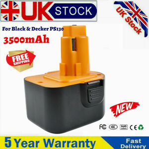 3500mAh 12V Battery Replace For Black & Decker PS130 ,A9252,A9275,A9266, NiMH UK