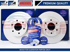 FOR AUDI Q5 SQ5 2012- REAR AXLE PREMIUM BORG & BECK COATED BRAKE DISCS 330mm