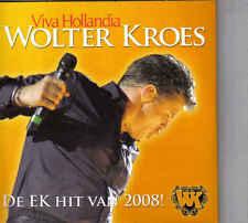 Wolter Kroes-Viva Hollandia cd maxi single 4 tracks cardsleeve