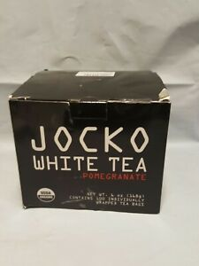 Jocko White Tea Pomegranate RELOAD 99 CT Open Box Individually Wrapped Ex 9/22