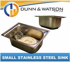Stainless Steel Sinks (Camper Trailers Caravans kitchens Outdoor BBQ DIY)