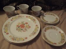 Signature Collection Oriental Garden 118 Fine China-12 Pc-LOOK