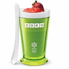 Zoku ZK113-GN Slush and Shake Maker, Green Slushy, Plastic,