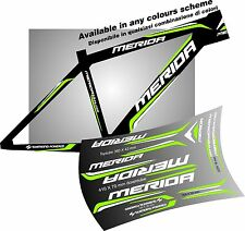 MERIDA bike ADESIVI stickers aufkleber autocollant WELCOME INTERNATIONAL BUYERS