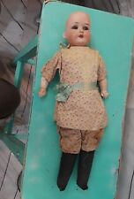 "Antique Heubach Koppelsdorf Bisque Head Dolly Face Doll - 15"" 275 11/0"