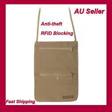 NEW Korjo RFID Blocking Money Pouch - Fast Shipping