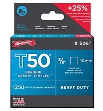 "Arrow T50 10mm 3/8"" Staples"