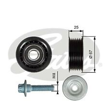 Aux Belt Idler Pulley fits MERCEDES C63 AMG C204 6.2 11 to 14 M156.985 Guide New