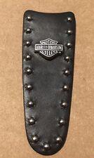 Original Harley Davidson Leather Studded Console Insert Bar Shield 71632-05 (H6)
