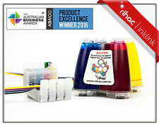 RIHAC PIGMENT CISS for Epson Workforce 630 WF545 WF625 Ink Cartridge 138 140 CIS