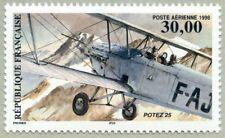 Timbre Poste Aérienne PA62 Neuf** - Biplan Potez 25 - 1998