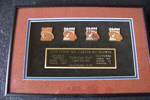 John Elway Career Milestones Production Proof pin set Broncos ltd ed 50 AIBM