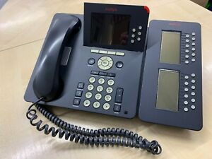 Avaya 9640 IP Telefon schnurgebunden Systemtelefon Bürotelefon mit SBM24 Modul