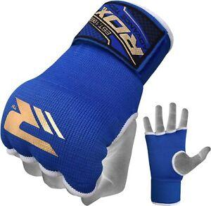 RDX Inner gloves boxing  bandage  Large Size BLUE