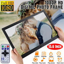 Digital Picture Frame 15.4 Inch Digital Picture Frame 1280800 Pixels High Resolution Smart Electronic Frame MP3 Music 1080P HD Video Playback Auto On//Off Timer Remote Control Included Gift for Lover