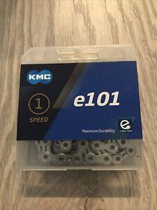 KMC E101 • 1 Speed 1/2 x 1/8 eBike Chain • 112 Links • 1/CLX101 • NEW-sealed Pkg