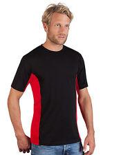 Camiseta Deportiva de Hombre Manga Corta Genial Seco Gimnasia Promodoro S-2XL