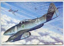 CP Aviation - Chasseurs 2nde Guerre - Messerschmitt Me 262 (All.) - F. Bergèse