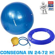 Kit Pilates High Power Palla Ginnica Gymball Fitball 75cm + Base Smontabile