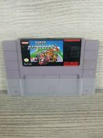Super Nintendo Super Mario Kart SNES Game Cartridge Only Authentic Tested