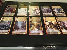 FORCE OF WILL: MONO LIGHT DECK #1 - FOIL GALAHAD, KNIGHTS AND MORE ~