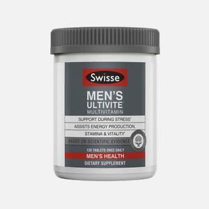 [Swisse] Men's Ultivite Multivitamin 120 Tablets