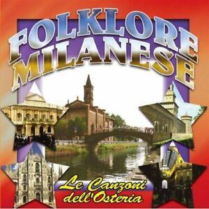 Folklore Milanaise - Le Chansons Dell la Cantine CD CD1420 Fonola Dischi