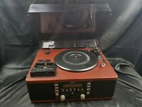 TEAC LP-R500 Turntable, Cd player, cassette player ** READ DESCRIPTION **