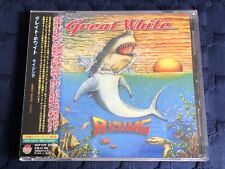 GREAT WHITE - Rising + 1 (2009) JACK RUSSELL VERY RARE JAPAN CD!!! *MINT*