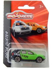 Dacia Duster Facelift Green Black Majorette Cars 225A 1:64 2018 Die-Cast Toy Car