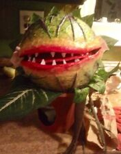 Little Shop Of Horrors Audrey Two Custom Made Hand Puppet- Great Halloween Prop!