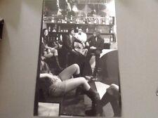 JOHNNY HALLYDAY et SACHA DISTEL  - Photo de presse originale 20x30cm
