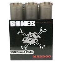 Maddog 150 Round BONES Paintball Pod - Smoke - 6 Pack FREE Expedited Shipping