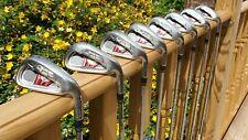 TaylorMade Burner XD Iron Golf Clubs Full Set - 4,5,6,7,8,9,PW,SW