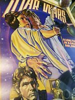 "Original ""STYLE-D"" 1978 Star Wars Soundtrack Poster ** ROLLED**"