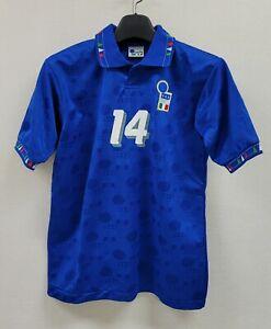 1994 ITALY Home S/S No.14 94 USA World Cup jersey shirt trikot