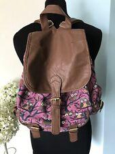Quality IT LUGGAGE Ladies Girls Backpack School Travel Owl Rucksack Hand Bag