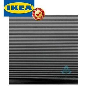 """IKEA SCHOTTIS Blackout Pleated Blind Dark Gray Adjustable 39 ¼x74 ¾ """""""