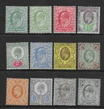 Collection of MINT EdVII stamps.