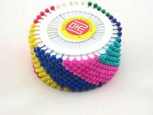 480 DRESSMAKER BERRY PINS WHEELS WHOLE SALE JOBLOT HIJAB SCARF DRESS SUPPORT NEW