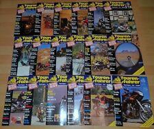 Tourenfahrer 1990 1991 1992 komplett Motorrad Reisen Technik Jahr Zeitschrift