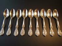 """1*OLD MARK PAT DATE REED BARTON FRANCIS I STERLING-FLATWARE TEASPOON 5 7/8""""EXCL*"""