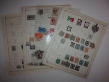 100+ Italy stamps Eritrea Victor Emanual III airmail used unused ID#871