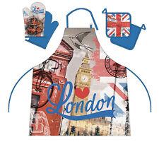 LONDON BIG BEN 3 pièces Tablier Tablier,APRON de Cuisine Barbecue