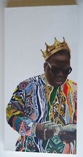 Notorious BIG Biggie Smalls Hustling wearing Coogi Sweater Original oil painting