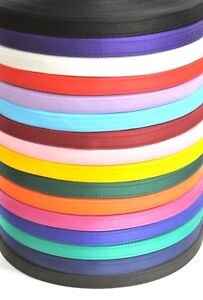 20mm Cushion Webbing In 20 Colours Straps Dog Leads Collars 1m 2m 5m 10m 25m 50m