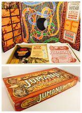 Jumanji Board Game - Milton Bradley 1995 - 100% Complete - Nice Condition