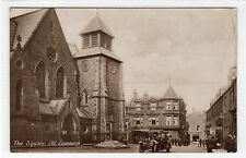 THE SQUARE, OLD CUMNOCK: Ayrshire postcard (C23091)