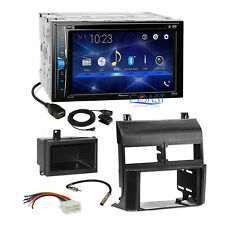 Pioneer DVD USB Bluetooth Stereo 2Din Dash Kit Harness for 1988-94 Chevy GMC