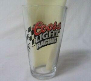 COORS LIGHT RACING #40 STERLING MARLIN BEER GLASS
